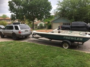 16ft prowler boat and trailer lake ready for Sale in Austin, TX