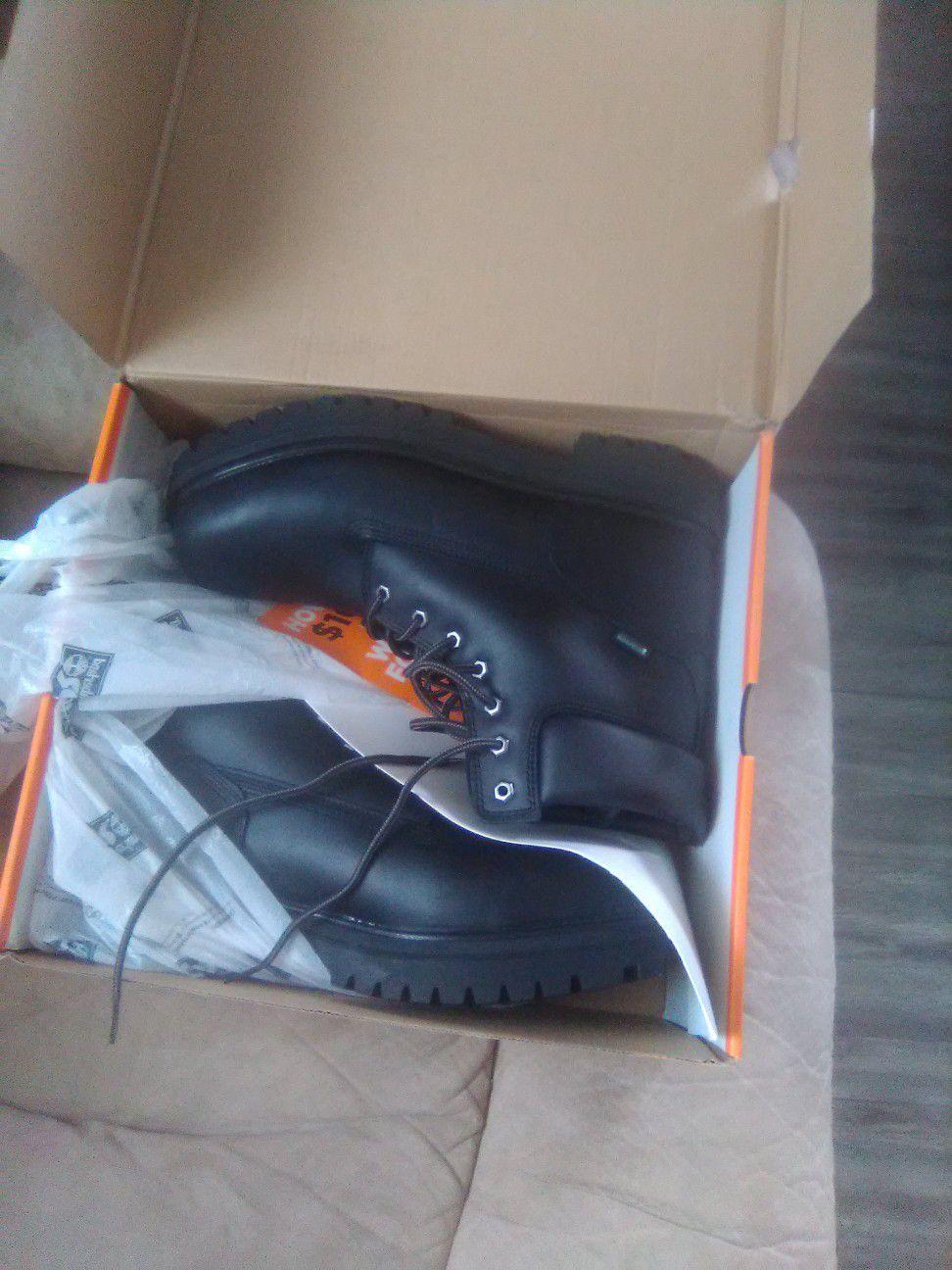 Timberland work boots!