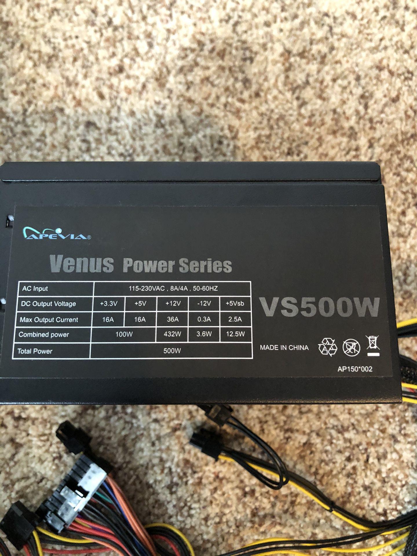 500 Watt Power Supply