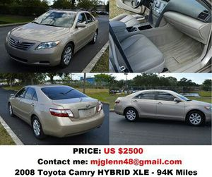 2008 Toyota Camry HYBRID XLE for Sale in Columbus, OH