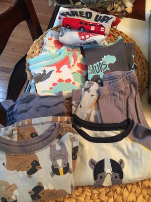 2t/3t toddler boys pajamas for Sale in Reston, VA