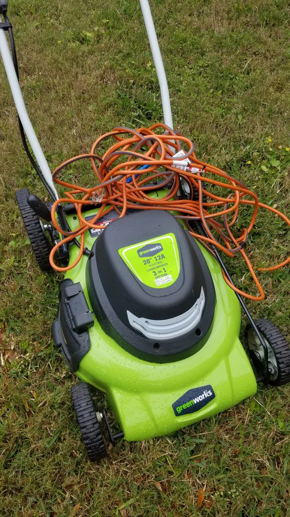 Greenworks Electric Lawn Mower 20