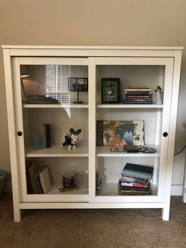 Ikea Hemnes Glass Door Cabinet For Sale In Charlotte Nc