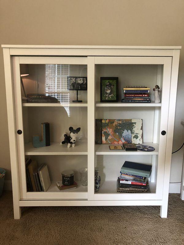 Ikea Hemnes Glass Door Cabinet For Sale In Charlotte Nc Offerup