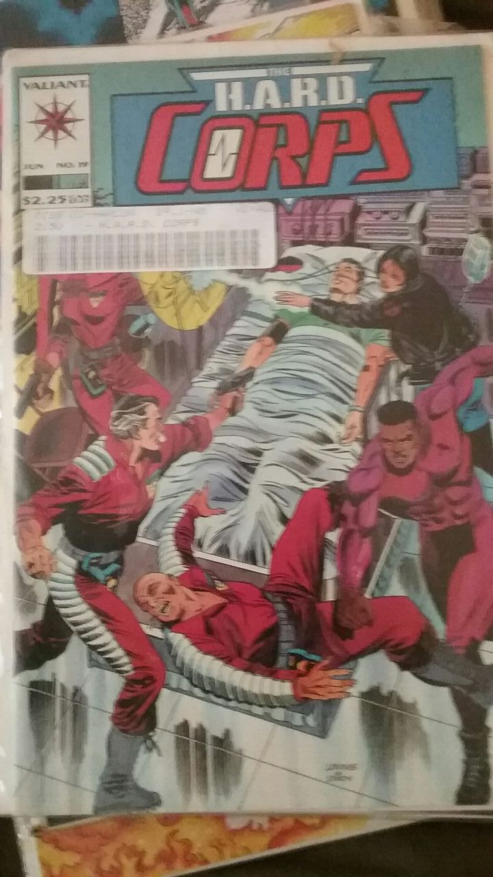 The H.A.R.D CORPS #19 Comic Book /Graded NR Mint
