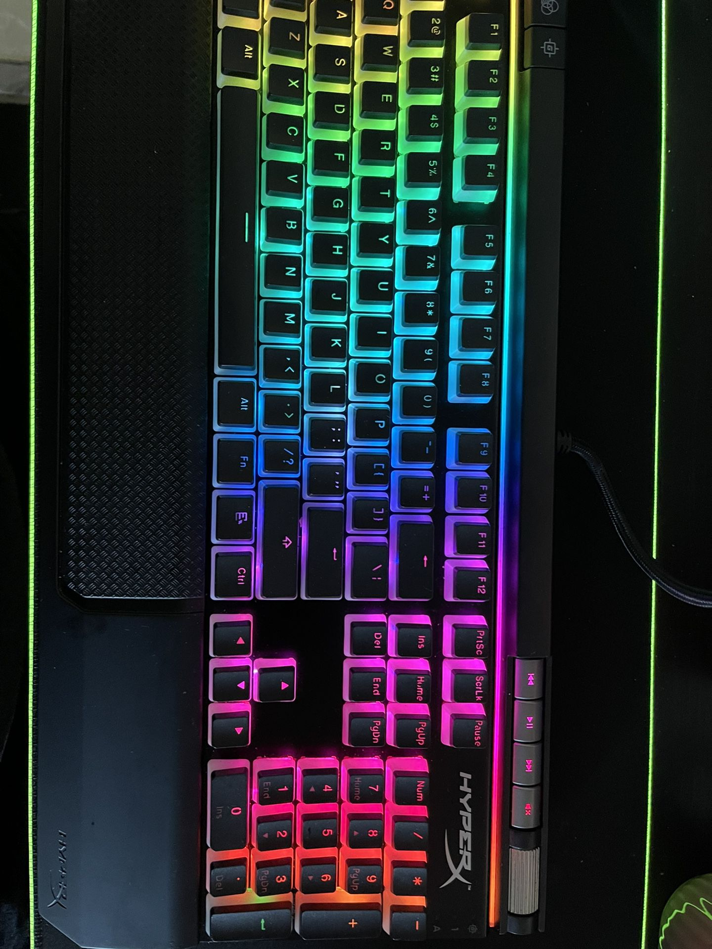 HyperX Alloy RGB Mechanical Keyboard With Cherry MX Brown
