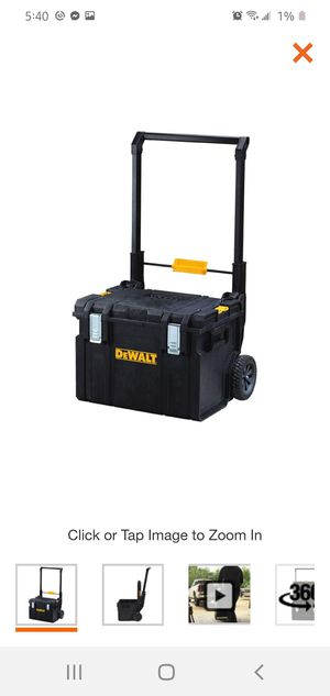 Photo Dewalt ToughSystem DS450 22 in. 17 Gal. Mobile Tool Box