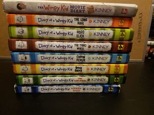 Diary of a wimpy kid book lot for Sale in WA, US