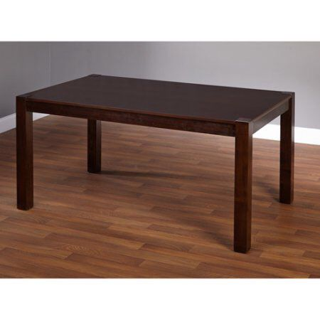 Axis Large Table, Espresso, Dark Brown