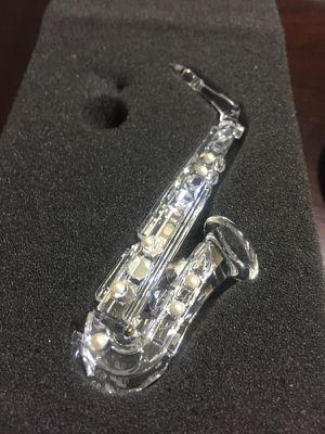 Beautiful Swarovski silver crystal saxophone for Sale in Winter Springs, FL