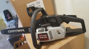 Craftsman chainsaw very good condition run perfectly for Sale in Lanham, MD