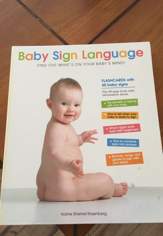 Baby Sign Language Book For Sale In Golden Co Offerup