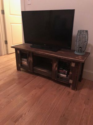 Tv and tv stand for Sale in Dallas, TX