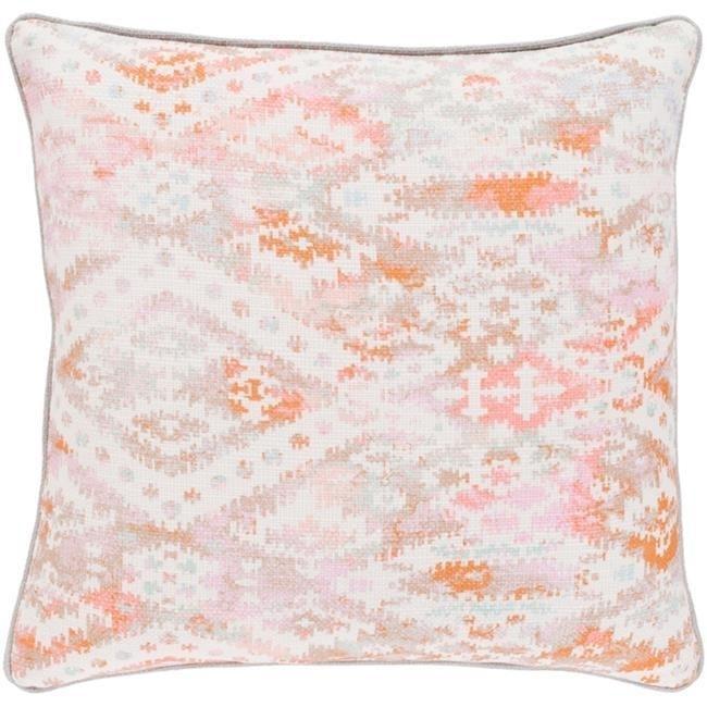 Surya RXA001-1818D Roxanne Throw Pillow - 18 x 18 x 4 in.