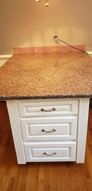 Kitchen cabinet solid granite top for Sale in Staunton, VA