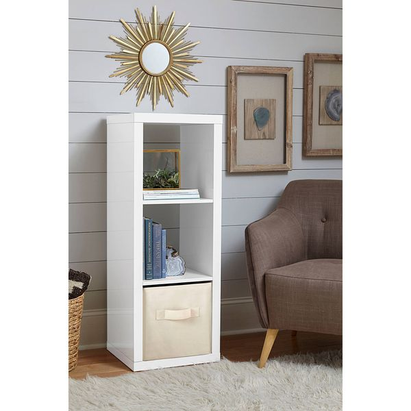 Better Homes And Gardens 3 Cube Storage Organizer White Lacquer Sku 51017 Furniture In Santa Fe Springs Ca Offerup