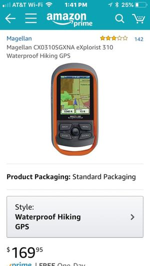 Magellan explorist 310 (gps, REI, hiking, camping, backpacking, garmin) for Sale in Bethesda, MD