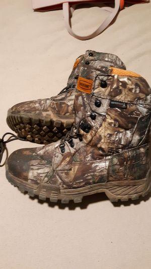 Photo Size 10 1/2 wolverine work boots