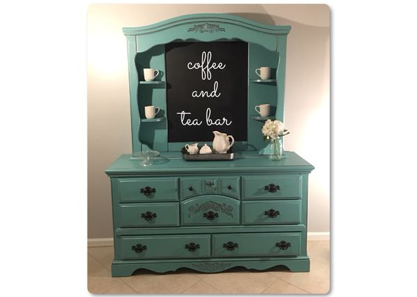 Mobile Bar Shabby Chic.Shabby Chic Coffee Bar Hutch For Sale In Wellington Fl Offerup