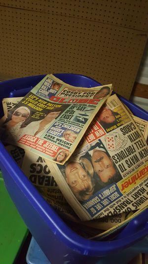 Tub of Vintage news for Sale in Apex, NC