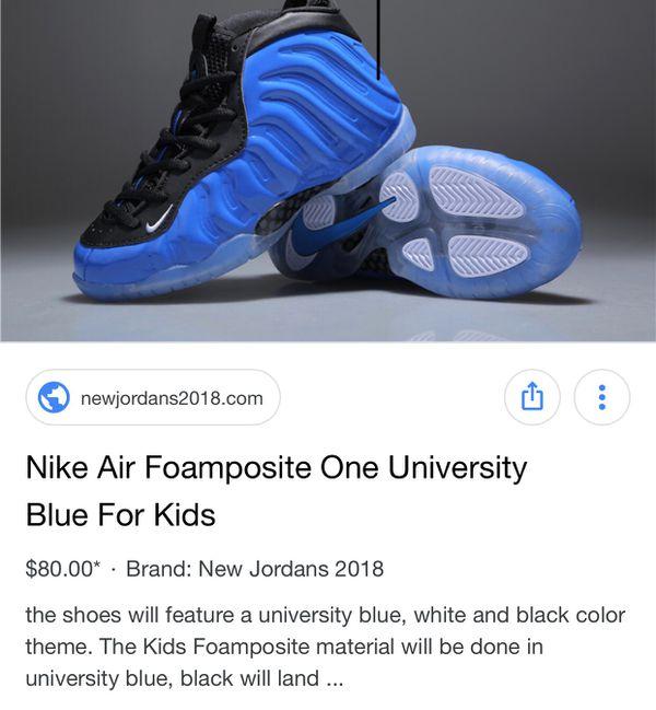ea7c56786fa Nike Foamposite - size 11c ( see pics for Marks scuffs) for Sale in  Newcastle
