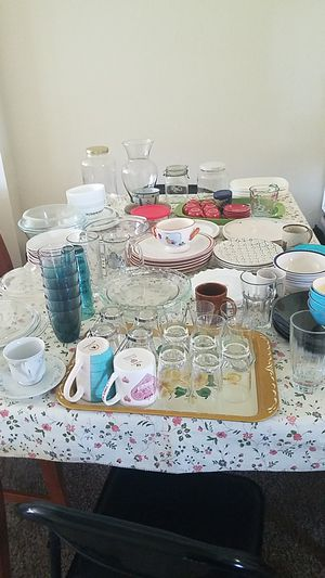 collective kitchen items mostly valuable Glasses items. See the below Description for Sale in Denver, CO