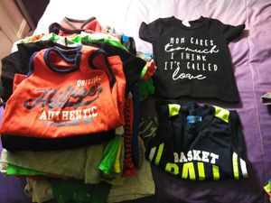 Kids shirts buy all baby clothes for $50 for Sale in UPR MARLBORO, MD