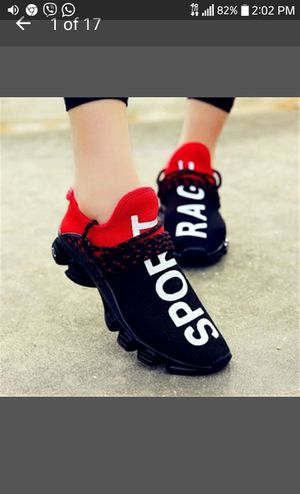 Shoes - Hot Unisex Sport Jogging Trainers Lovers' Breathable Walking Shoes for Sale in Springfield, VA