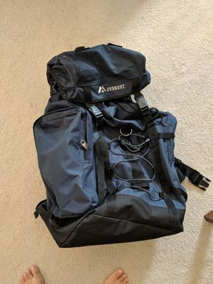 Everest Hiking Pack, Navy for Sale in Los Angeles, CA