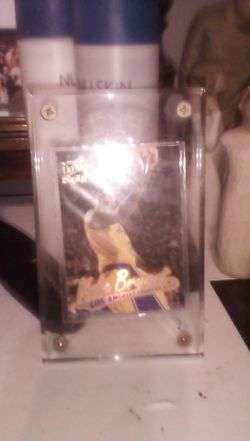 1996 Kobey Bryant ultra Fleer rookie card one of thirteenth best ones Thumbnail
