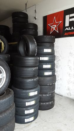 New and used tires 4 sale financing available Thumbnail