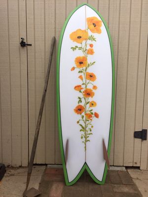 5'6 Fish Sincerely Surfboards for Sale in Santa Monica, CA
