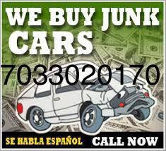 We Buy Junk Cars for Sale in Alexandria, VA