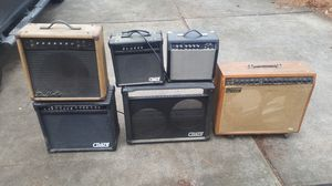 Project guitar amps! Must go!! for Sale in Raleigh, NC