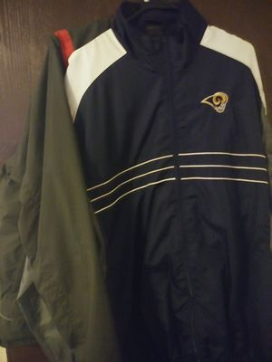 Rams and Budweiser Jackets $10 for Sale in Collinsville, IL