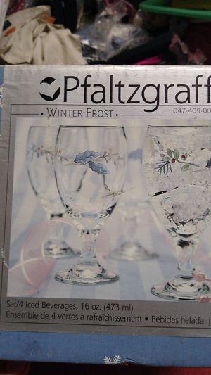 Pfaltzgraff Winter Frost Iced Beverage Glass