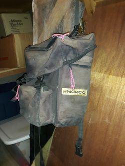 Vintage cycling saddle bags Thumbnail