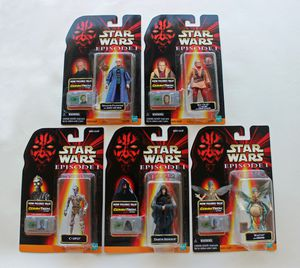 Star Wars 1998 Episode1 Action figures W/ Commtech Chip by Hasbro. (Lot) Collection 1, Collection 2, Collection 3 for Sale in Scottsdale, AZ