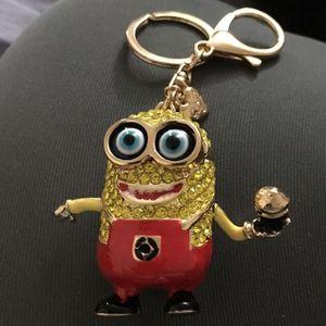Minion purse charm and keychain for Sale in Fairfax, VA