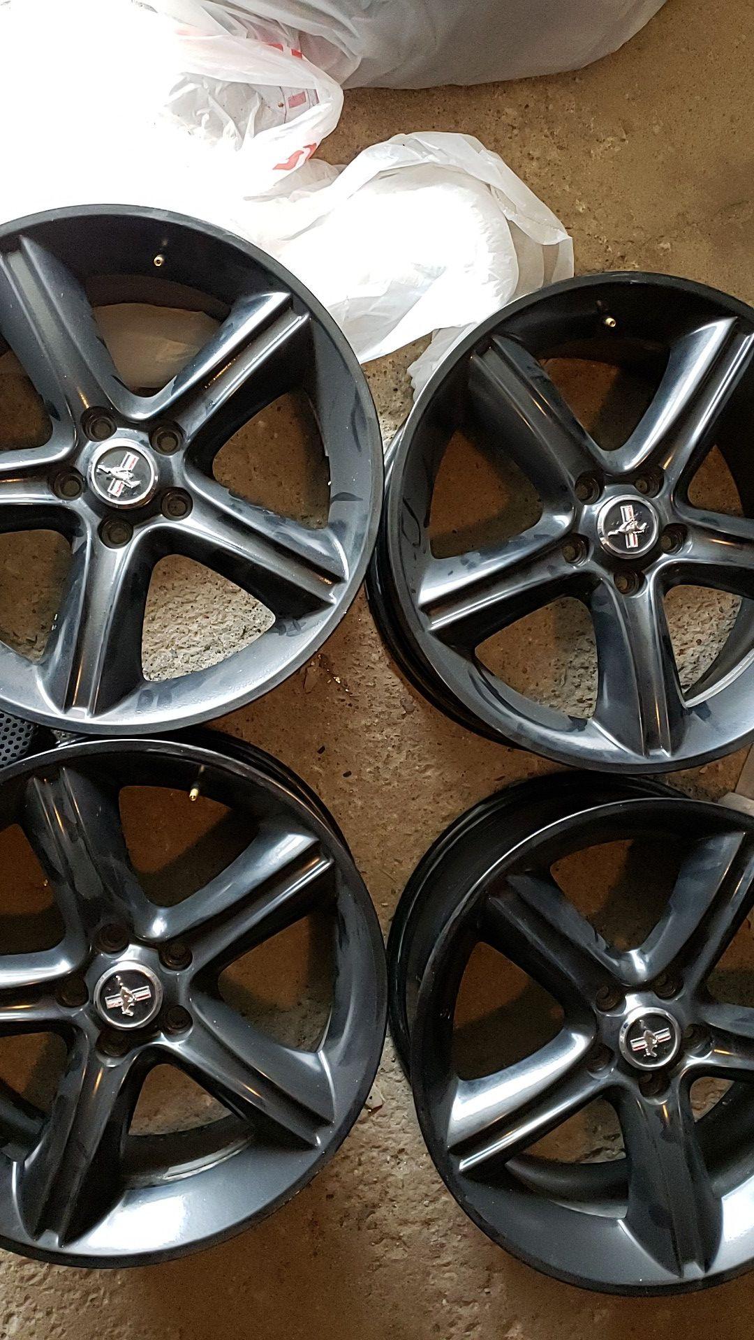 19x9 Mustang GT Wheels
