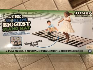 Worlds Biggest Piano Mat for Sale in Centreville, VA