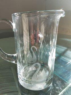 Crystal pitcher princess house Thumbnail