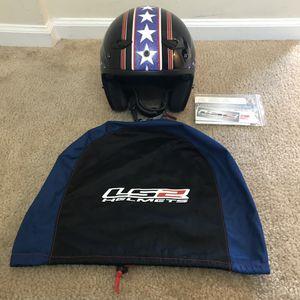 LS2 open face motorcycle helmet for Sale in Fairfax, VA