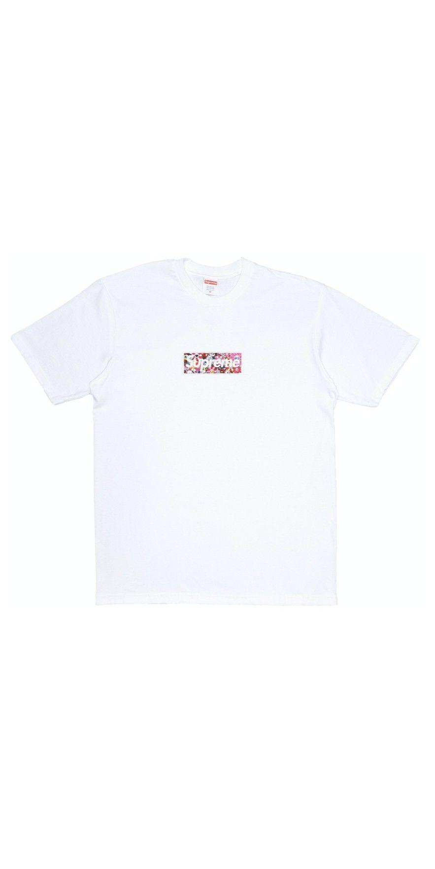 Supreme Takashi Murakami Relief Box Logo