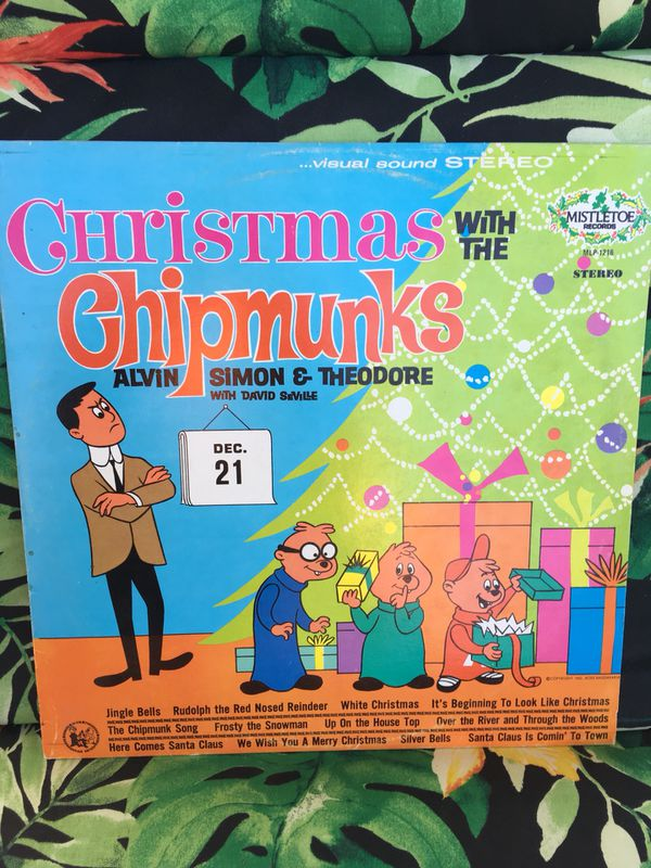 Alvin and the chipmunks Christmas Album for Sale in Denver, CO - OfferUp