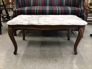 Marble Top Coffee Table for Sale in Fort Washington, MD
