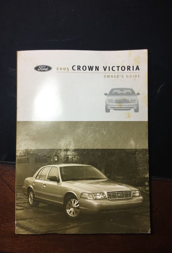 crown victoria 2005 manual