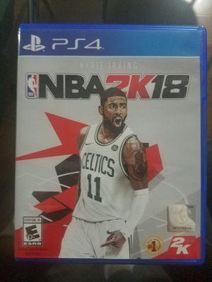 PS4 NBA 2K18 for Sale in Lincolnia, VA