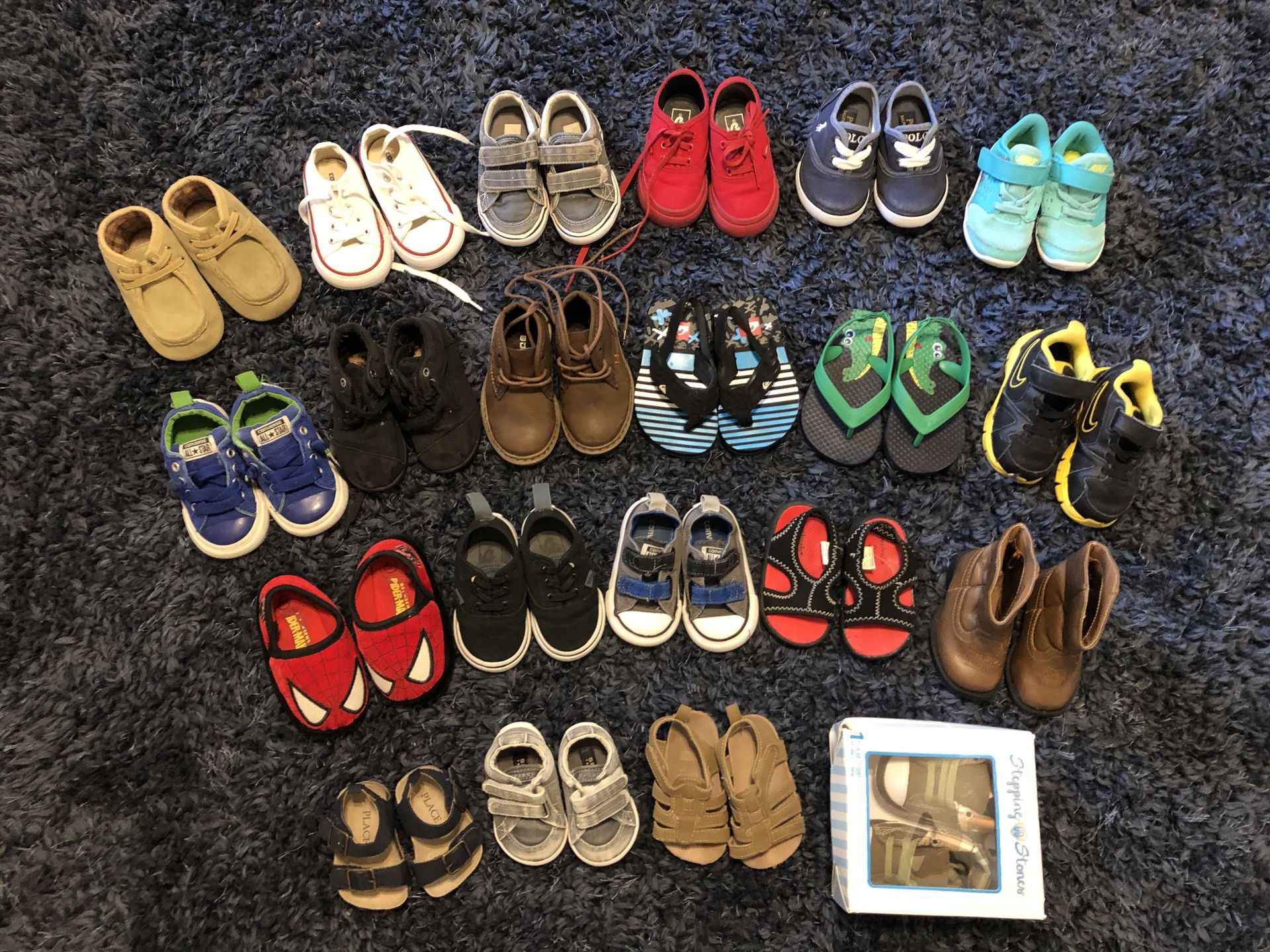 Baby boy shoes size 1 to 6