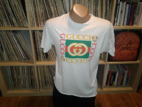 800a7030710 Vintage 90s bootleg Gucci shirt for Sale in San Francisco